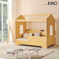 슈에뜨 하우스 타입 어린이 침대 A형 + 레토렙매트 + 가드
