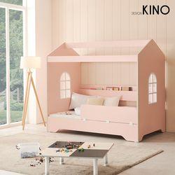 슈에뜨 하우스 타입 어린이 침대 A형 + 노블매트 + 가드