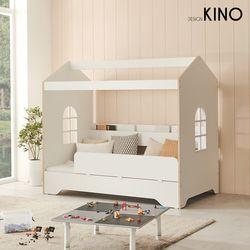 슈에뜨 하우스 타입 어린이 침대 A형 + 플래티넘매트 + 가드