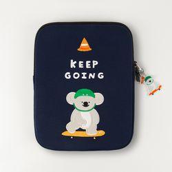 자수 노트북파우치 Keep going pliko (아이패드-11인치)