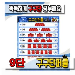 [오메가퍼즐] 63pcs 구구단 9단 판퍼즐