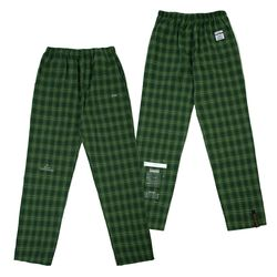 CHECK PAJAMA PANTS GREEN