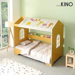 슈에뜨 하우스 타입 어린이 침대 B형(노블콰이어 매트포함)