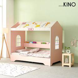 슈에뜨 하우스 타입 어린이 침대 B형(플래티넘 매트포함)