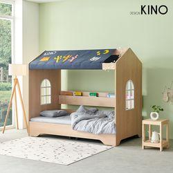 슈에뜨 하우스 타입 어린이 침대 B형 + 알로매트 + 가드