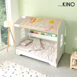 슈에뜨 하우스 타입 어린이 침대 B형 + 레토렙매트 + 가드