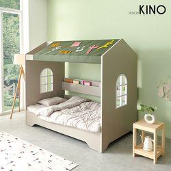 슈에뜨 하우스 타입 어린이 침대 B형 + 플래티넘매트 + 가드