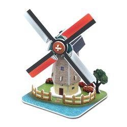 모또 세계 건축물 풍차 입체퍼즐 만들기