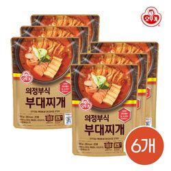 오뚜기 의정부식 부대찌개 500g 6개입 / 간편식