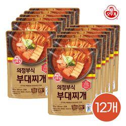 오뚜기 의정부식 부대찌개 500g 12개입 1박스 /간편식