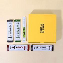 [무료배송] S 자연공유 곤약쫀득이 5종 선물세트