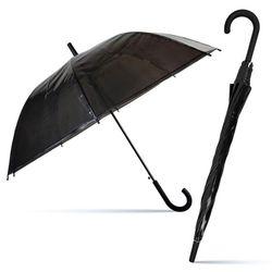 ibis 5000 투명비닐장우산(SP)-검정 1세트 30개입