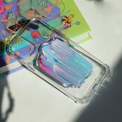 부분 레진 코팅 유화 폰케이스 휴대폰케이스
