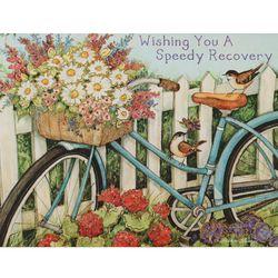 일러스트카드 Heart Home Wishing you a speedy recovery