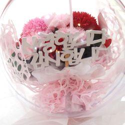 풍선 아크릴볼 카네이션 꽃풍선 어버이날선물