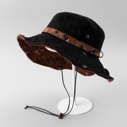 에스닉 캠핑 모자