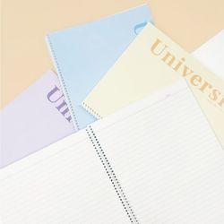 1000 유니버시티 스프링노트 26매 1EA-유선노트줄노트공책
