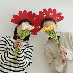어버이날 카네이션 머리띠 만들기 DIY 키트 3종