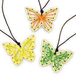 스트링 목걸이 만들기 (10개세트)-나비