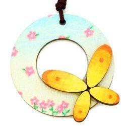 봄 목걸이 만들기-나비