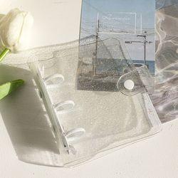 PVC 투명 포토카드 바인더 ac-9306c