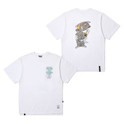 CELEBRATION OVERSIZED T-SHIRTS WHITE