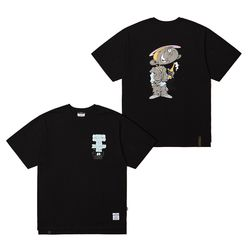 CELEBRATION OVERSIZED T-SHIRTS BLACK