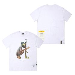 SOLDIER STANDARD FIT T-SHIRTS WHITE