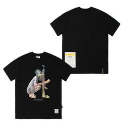 SOLDIER STANDARD FIT T-SHIRTS BLACK