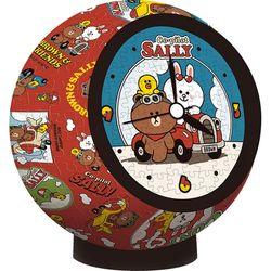 145피스 입체퍼즐 - 라인 프렌즈 파일럿 (시계퍼즐)