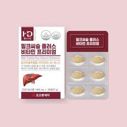 코오롱제약 밀크시슬플러스 비타민 프리미엄 (30정 1개월분)