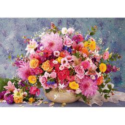 2000피스 직소퍼즐 - 행복한 꽃 바구니