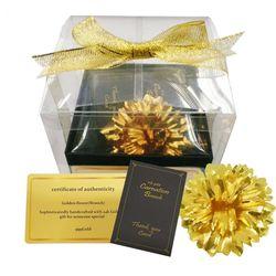 24K 순금 골드 5월 어버이날 스승의날 꽃 카네이션 브로치 선물