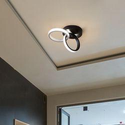 로보나 LED 현관 직부등 20W [블랙]
