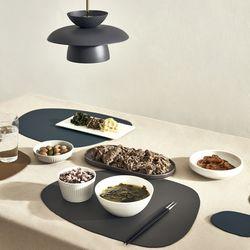북유럽 식탁 가죽 테이블 매트