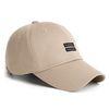 21 TWIN LABEL CAP BEIGE