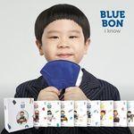블루본 아이노우 컬러마스크 새부리형 일회용 소형 1매
