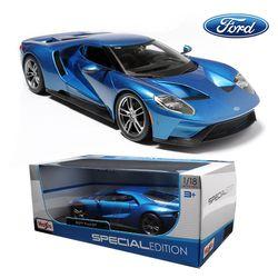 마이스토 1:18 2017 포드GT 블루 자동차 다이캐스트 모형차