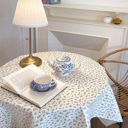 방수 테이블 덮개 테이블 보 얼그레이 방수 식탁보 110X130