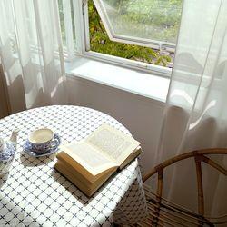 방수 테이블 덮개 테이블 보 엔틱타일 방수 식탁보 110X130