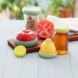 푸드허거스 과일 실리콘덮개 밀폐용기 다용도 뚜껑 5p세트