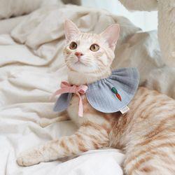 당근 순면 강아지케이프 고양이케이프