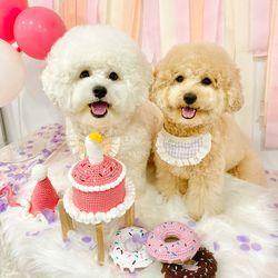 케이크 딸랑이 장난감 강아지생일 고양이생일