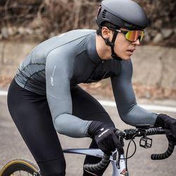 전문 자전거의류 CRNK 레이싱핏 자전거 긴팔져지