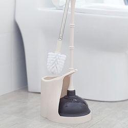 마이티 화장실 청소솔 뚫어뻥 세트 고급형