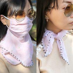 스카프마스크 핑크판타지 여름 쿨마스크
