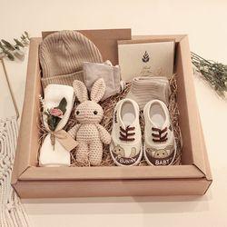 임신축하 출산 돌 아기 선물세트 4컬러