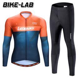 [BIKELAB]프로 자전거의류 긴팔져지 세트 LBML21-01
