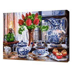 [명화그리기]4050 로얄 델프트 티 타임 29색 정물화