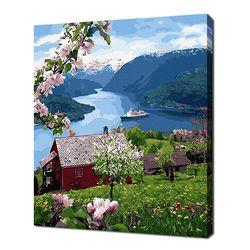[명화그리기]4050 게이랑에르의 여름 28색 풍경화